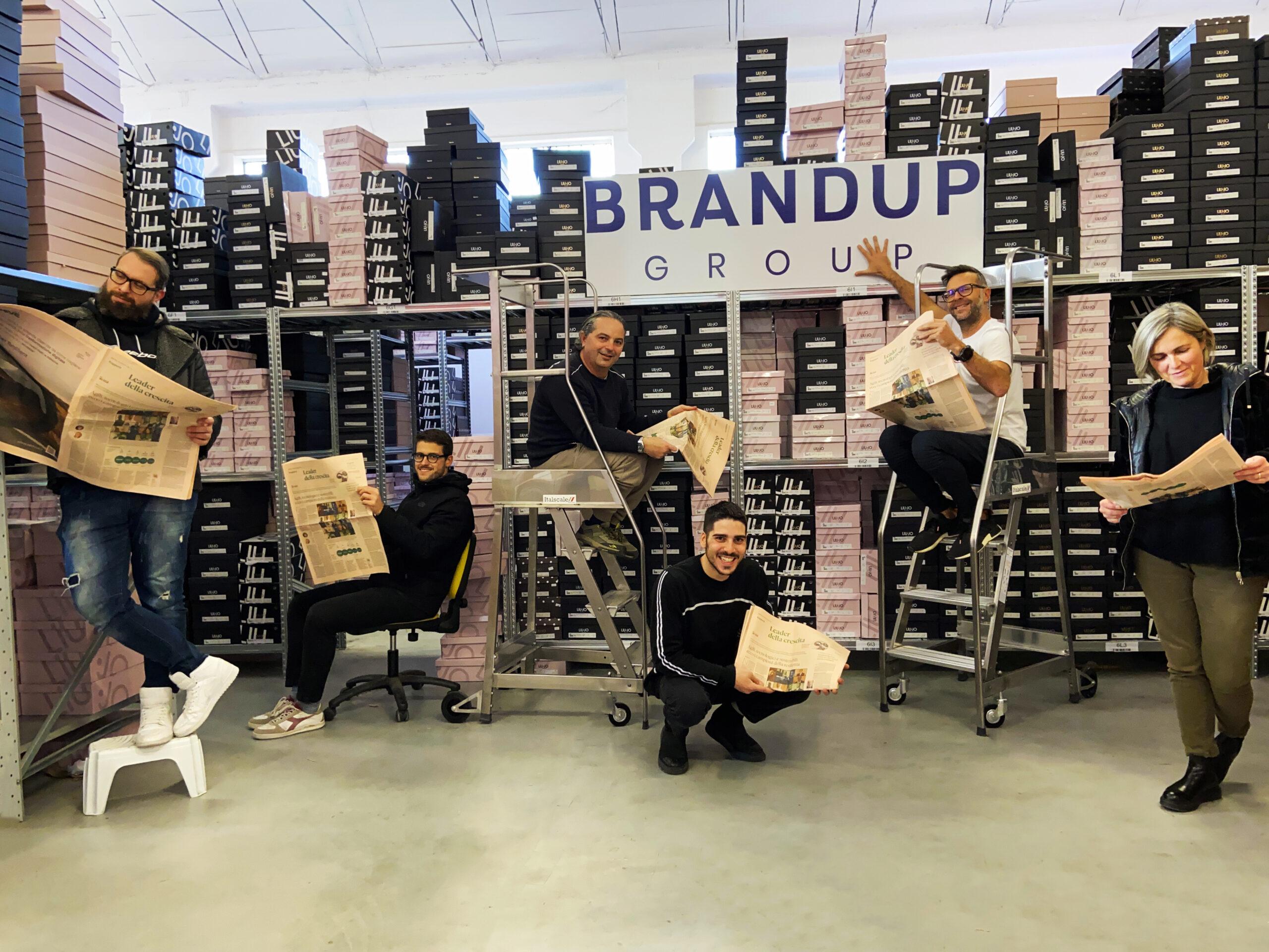 BrandUP Team Leader della crescita 2021
